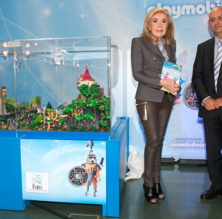 PLAYMOBIL play & give 2014  για την στήριξη της Τράπεζας Εθελοντών Δοτών Μυελού των Οστών, Όραμα Ελπίδας