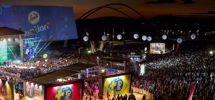 Αmita Motion Ημέρα Θετικής Ενέργειας 2015: Περισσότεροι από 65.000 νέοι κατέκλυσαν το Τείχος των Εθνών στο ΟΑΚΑ για να γιορτάσουν 10 Χρόνια Θετικής Ενέργειας
